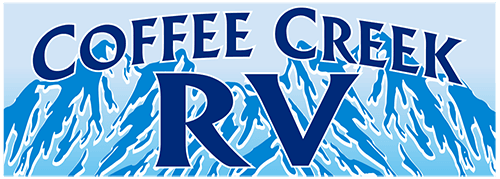 Coffee Creek RV Park located at Mile Marker 47 on the Alaskan Highway